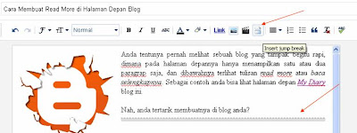 cara membuat read more di blog