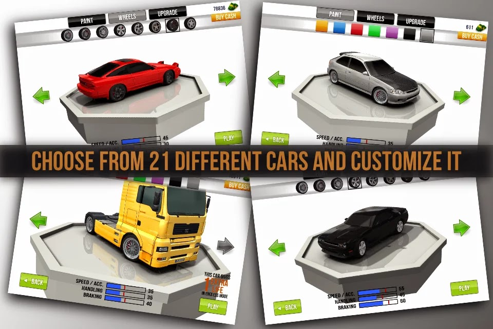 Traffic Racer v1.8.0 Mod [Free Shopping]