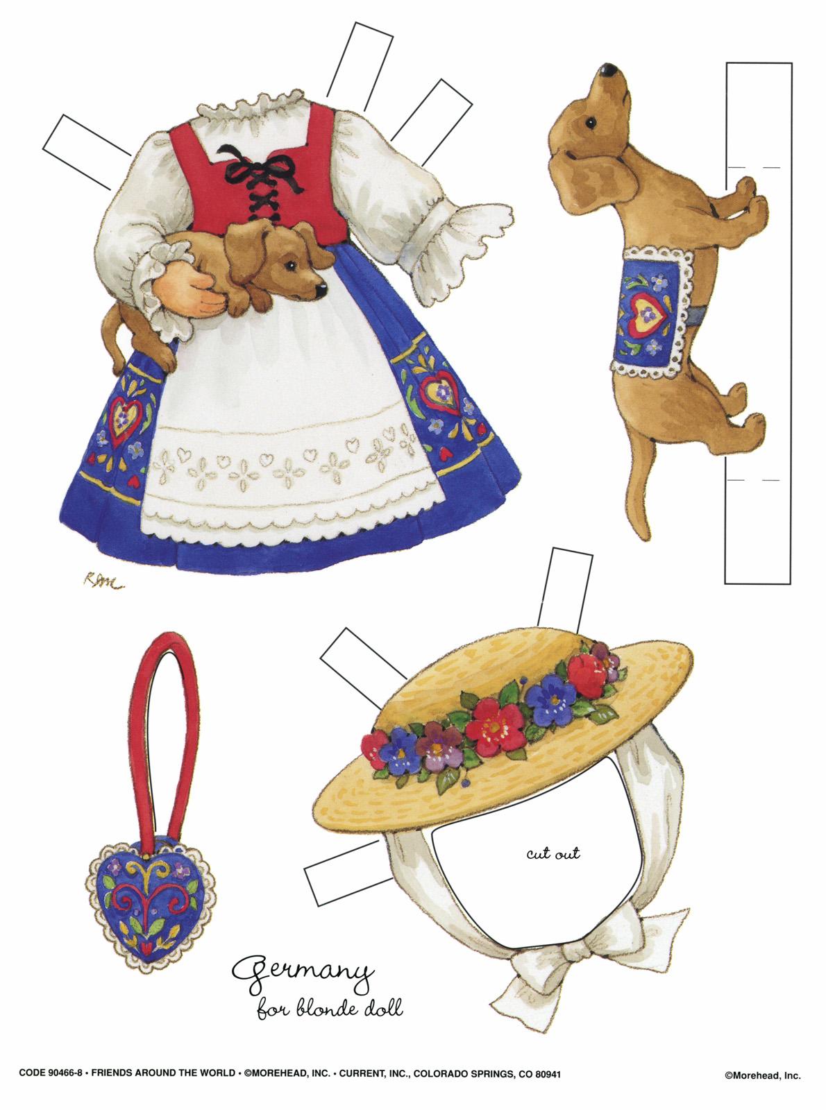 Бумажные костюмы для детей