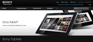 Sony Tablet S available for pre-order from Sony Store