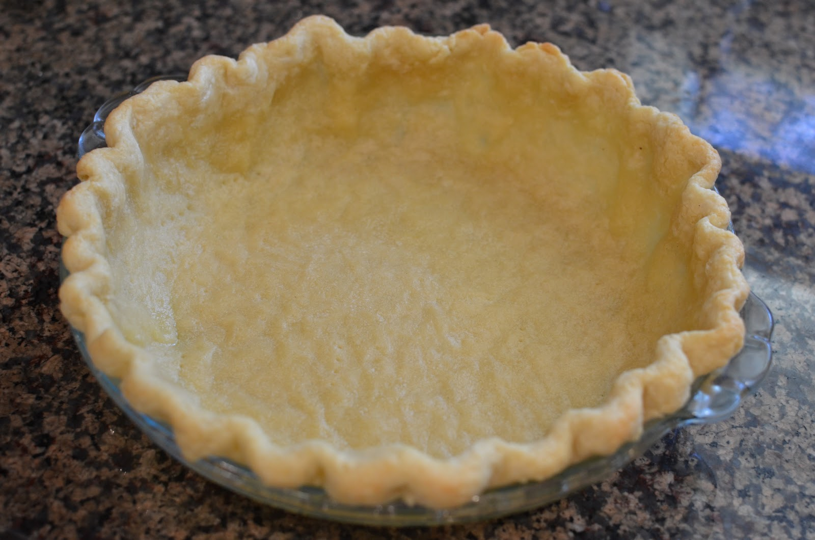 ... all that happens i m starting with the pie dough an all butter one
