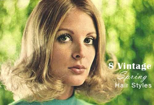 Mod and Mint: 8 Vintage Spring Hair Styles from the 1970s