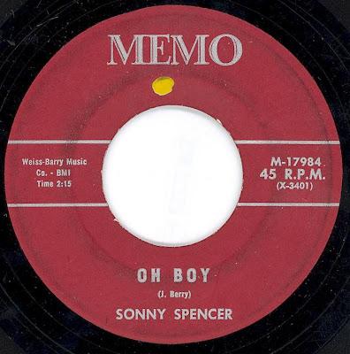 Sonny Spencer - Oh Boy - Gillee
