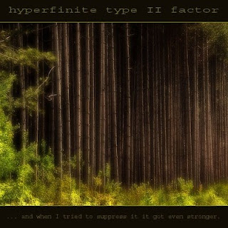 Hyperfinite Type II Factor: '... and when I tried to suppress it it got even stronger.'