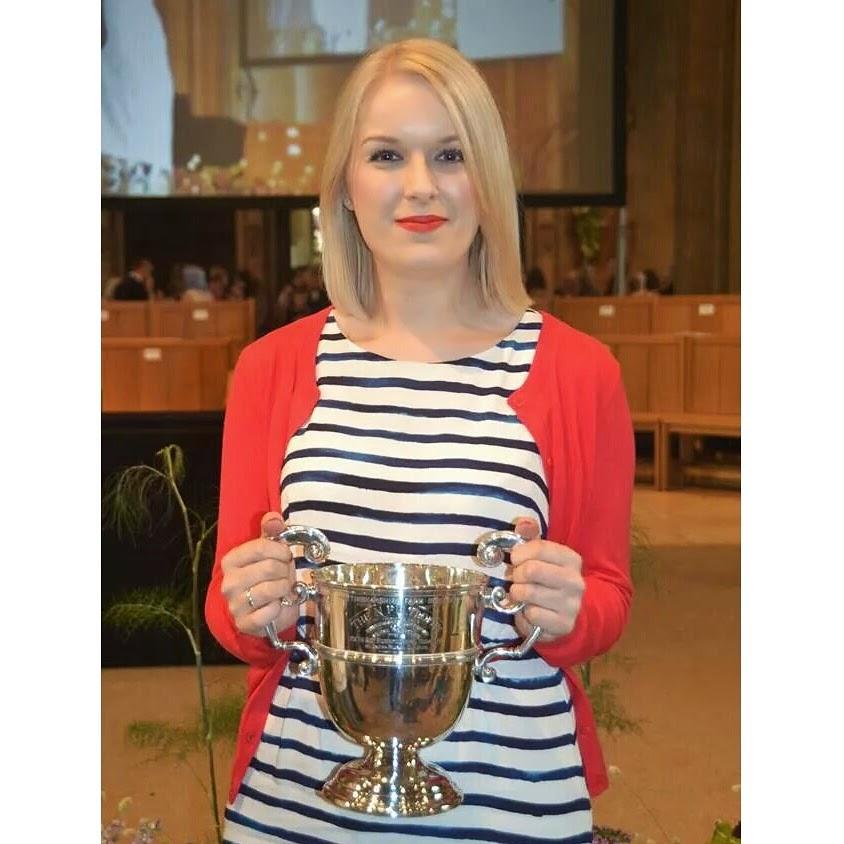 Graduation Joules Adana Dress, Blue Stripe