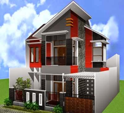Desain Rumah Minimalis 2 Lantai Sederhana