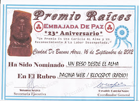 PREMIO RAICES 2012