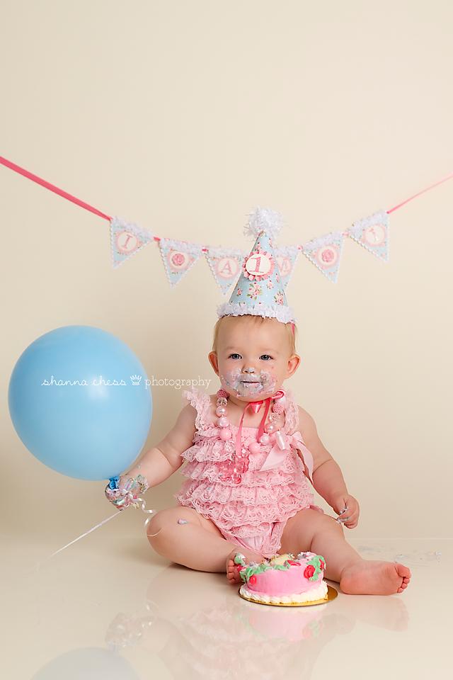 eugene springfield oregon baby photography cake smash