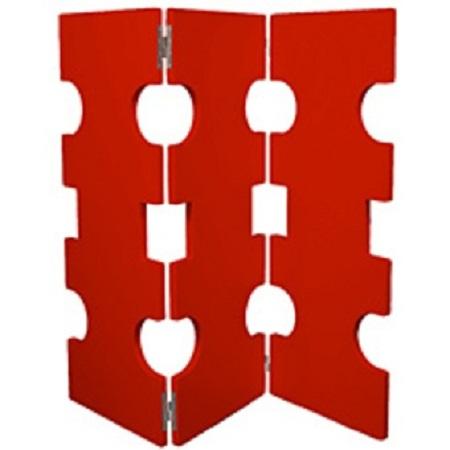 Biombos reciclados muebles y accesorios - Biombos de carton ...