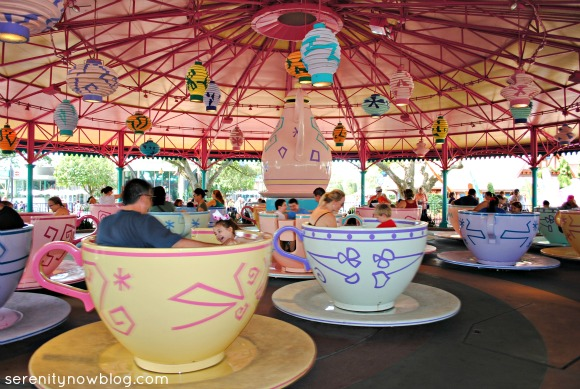 Disney's Spinning Teacup Ride, from Serenity Now blog