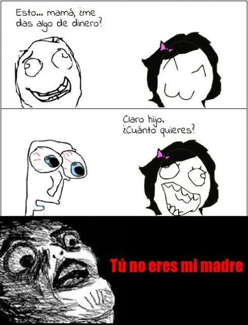 Meme - Tú no eres mi madre