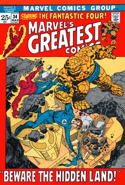 Marvel's Greatest Comics #34, the Inhuman's Great Refuge