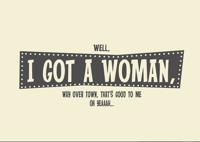 Song Lyric typographic posters