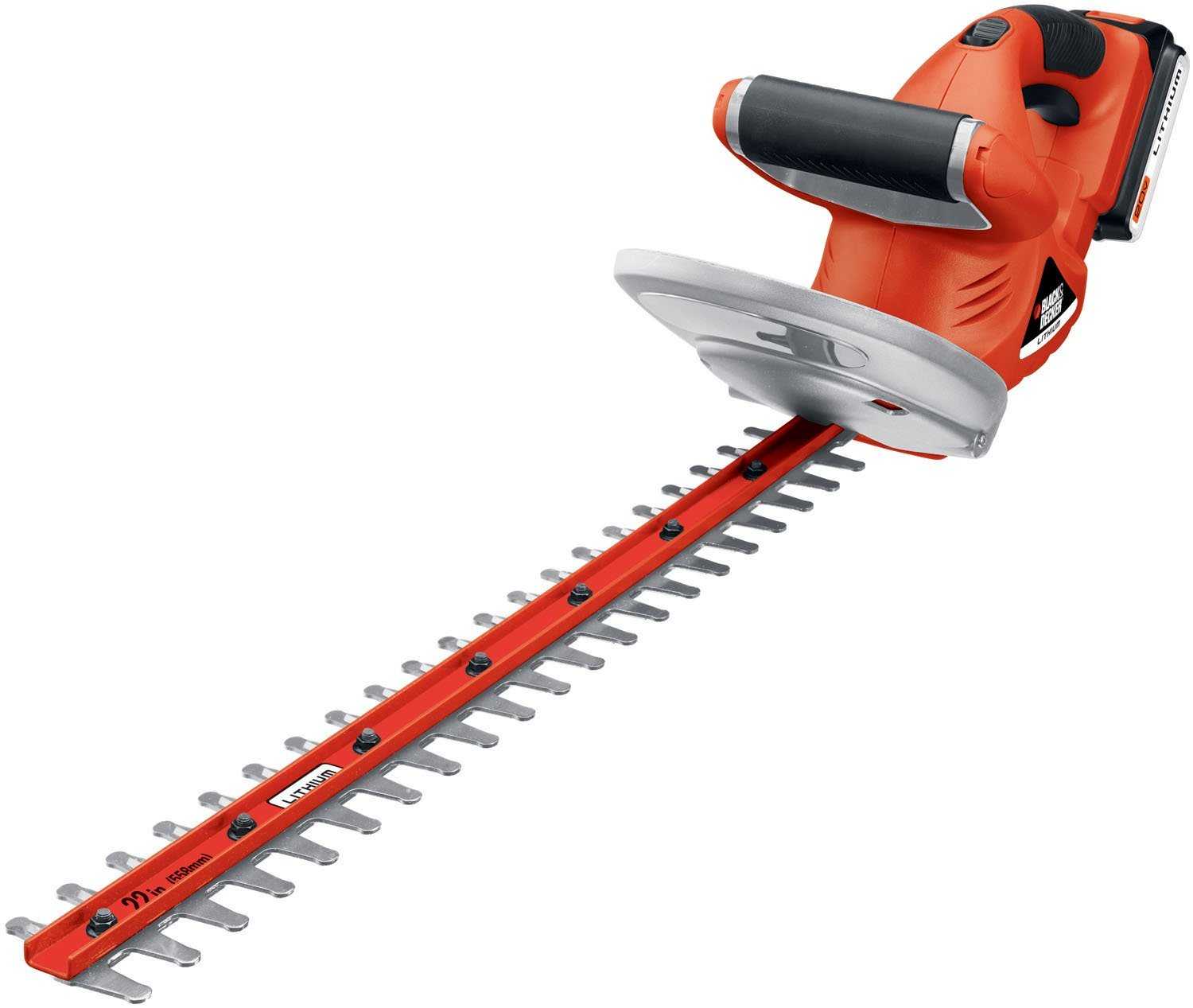 hedge trimmer reviews black decker lht120 22 inch 20. Black Bedroom Furniture Sets. Home Design Ideas