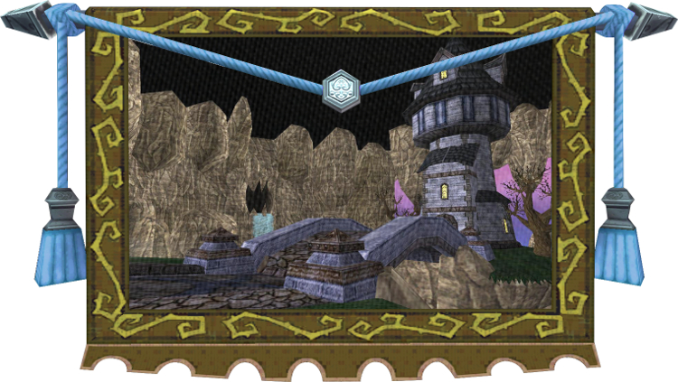 Wizard101 Tapestry - Haunted Cave