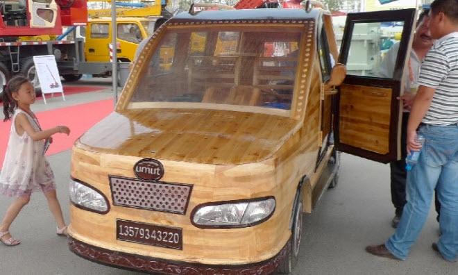 Umut, Mobil Kayu Bertenaga Listrik Dari China