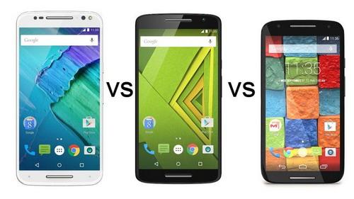 Perbedaan Motorola Moto X Style vs. Motorola Moto X Play vs. Motorola Moto X2