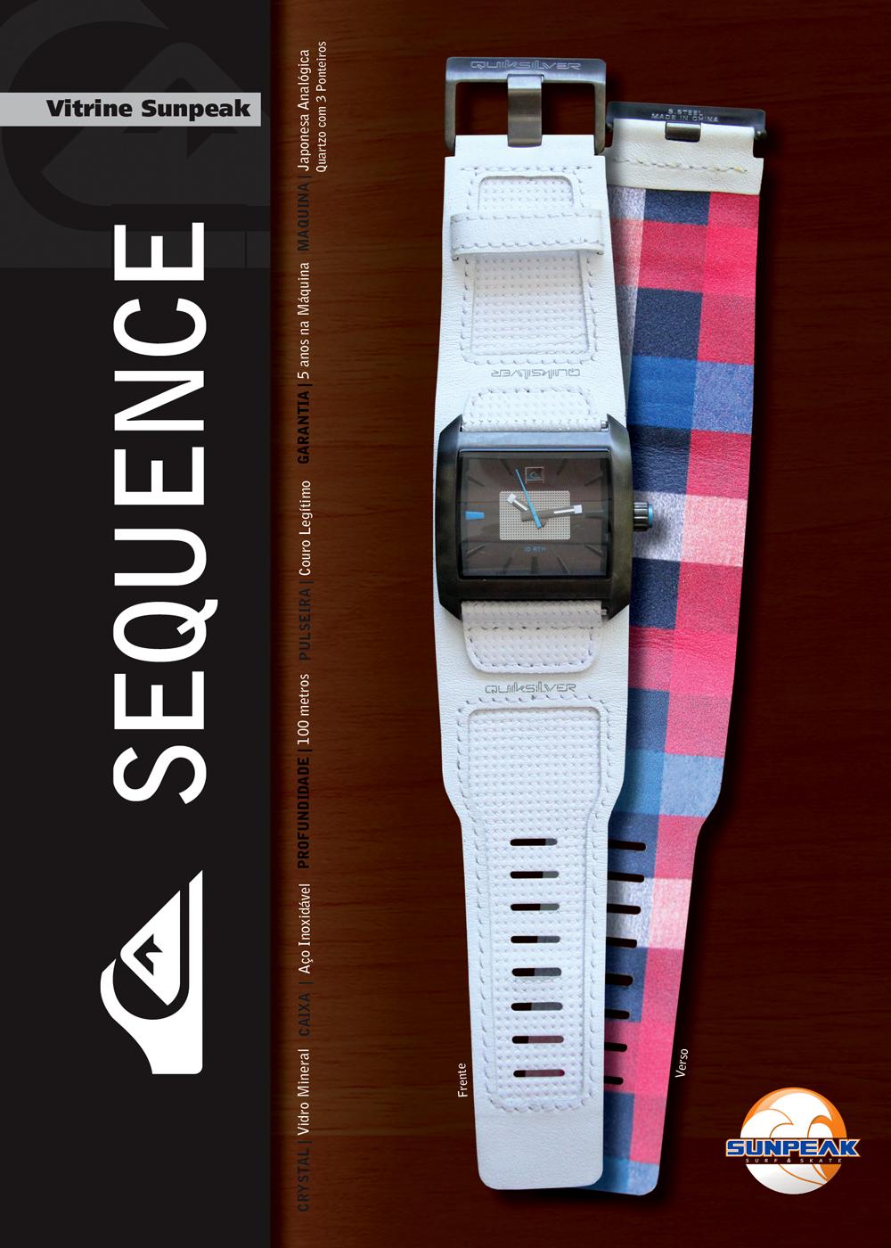 aee06b186c5bc Poderá também gostar de  Quiksilver Limited Edition. Lançamento Relógios  Quiksilver