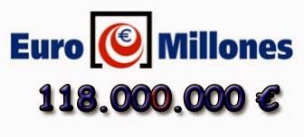 Sorteo de Euromillones del martes 10 de junio de 2014