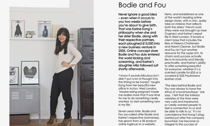 BODIE and FOU Head Offices & Founder in Curio magazine