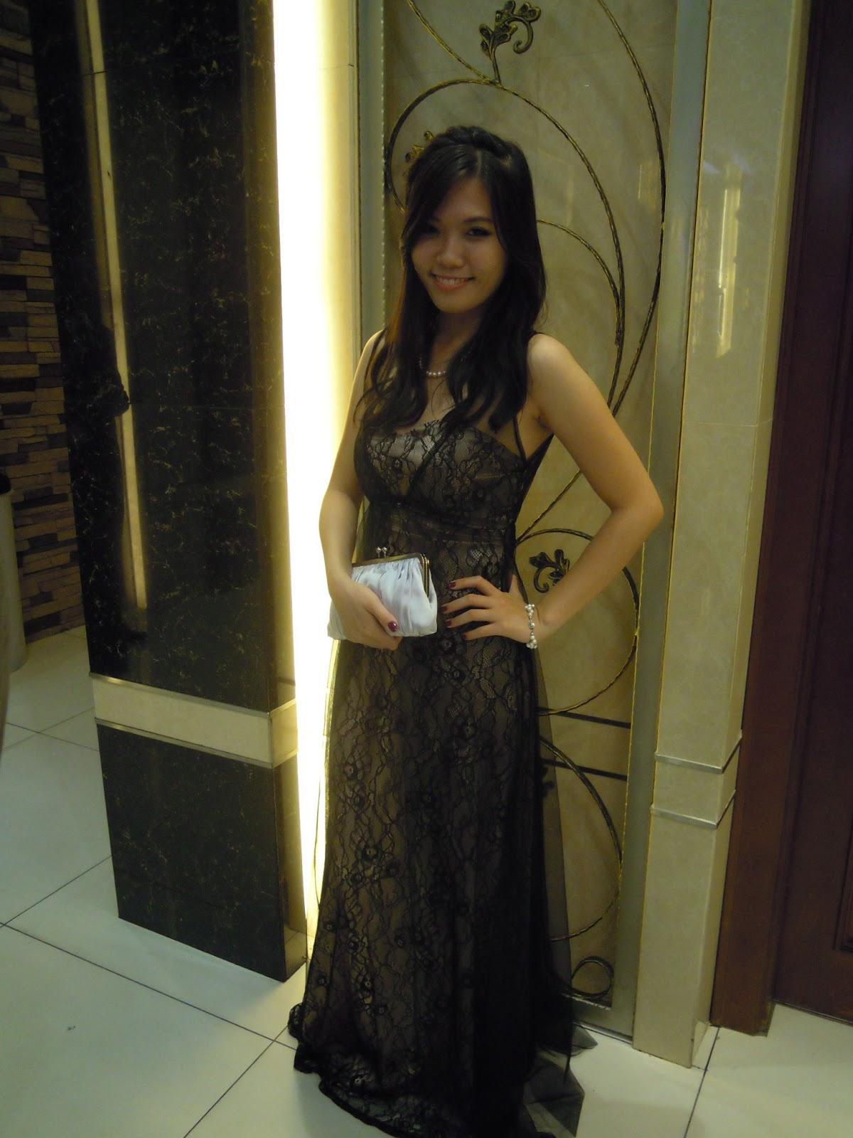 Evening dress kota damansara dim