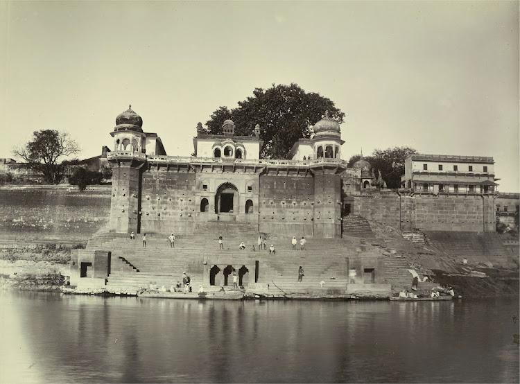 Shivala Ghat - Benares (Varanasi) 1905