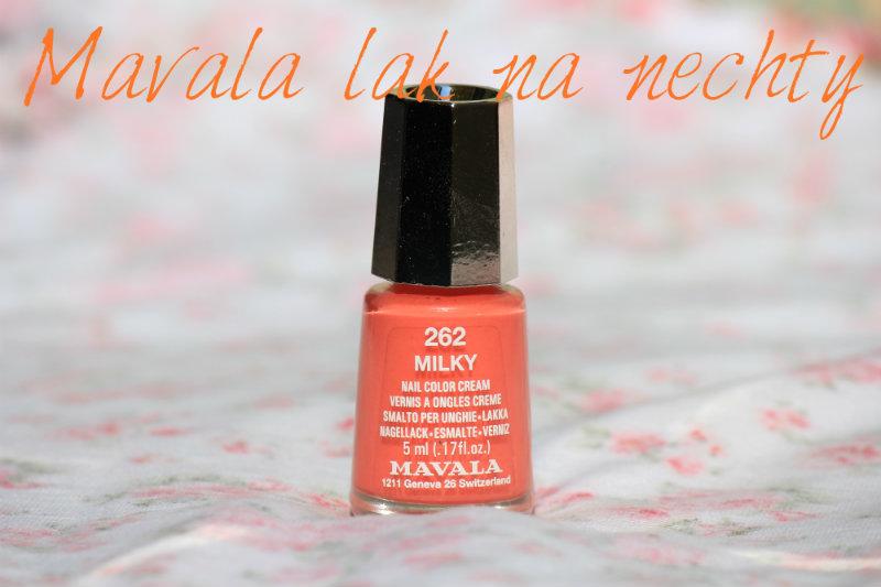 ► MAVALA - lak na nechty 262 Milky