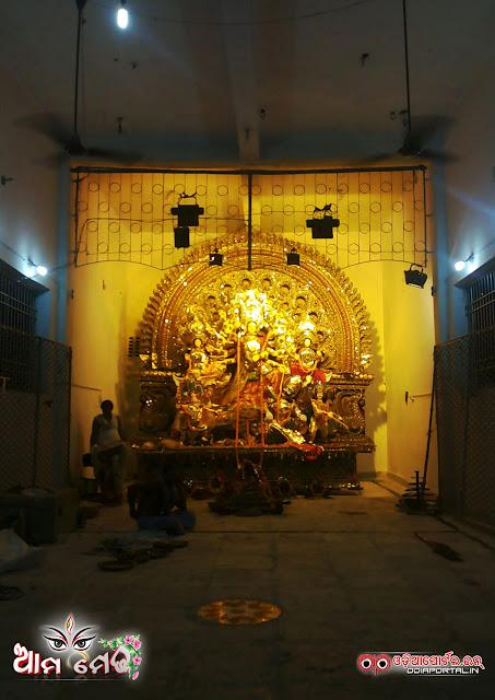 Ama Medha: CDA-7, Cuttack Durga Medha 2015 - Photo By Ashutosh Tripathy