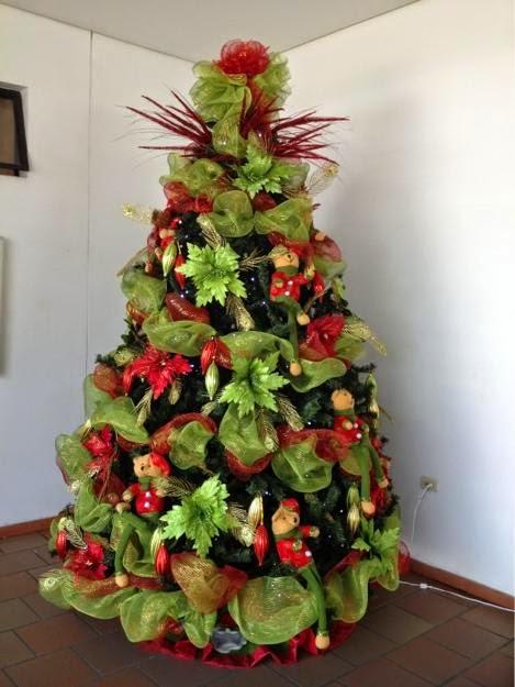 Im genes iluminadas de rboles de navidad im genes de - Arboles de navidad imagenes ...