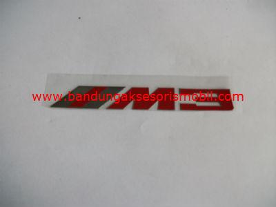 Emblem Alumunium Red M3