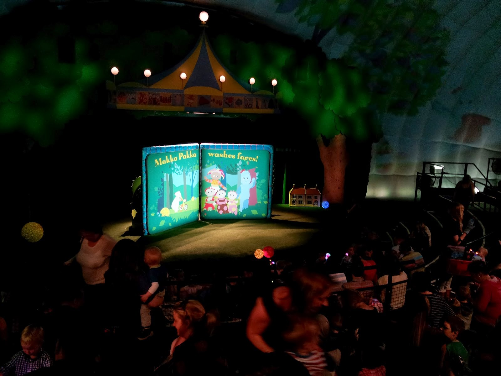 In the Night Garden live, London to do, Londaon Family Trip