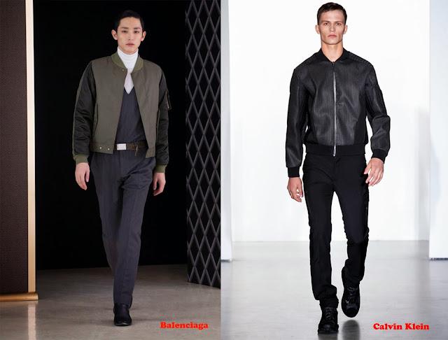 Tendencia otoño_invierno 2013-14 Bomber: Balenciaga y Calvin Klein