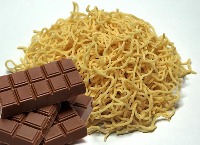 JANGAN Makan Mie Instant dengan Coklat Ini penjelasan ILMIAHNYA