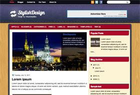 StylishDesign Blogger Template