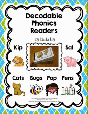 http://www.teacherspayteachers.com/Product/Decodable-Phonics-Readers-For-Little-Kids-979815