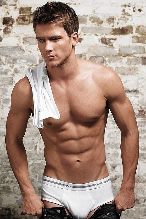 Hot Male Underwear Model Men