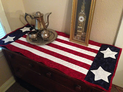 Quiltsmart Celebrate Freedom Table Runner