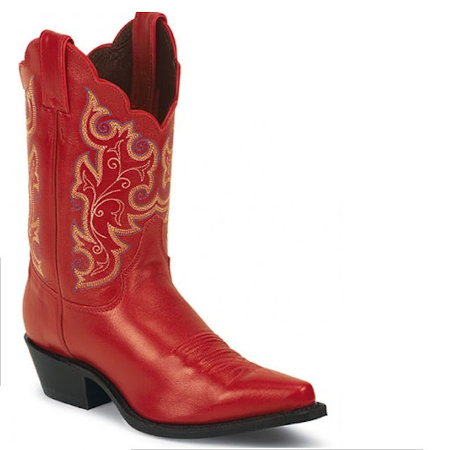 Cowboy Boots Red2