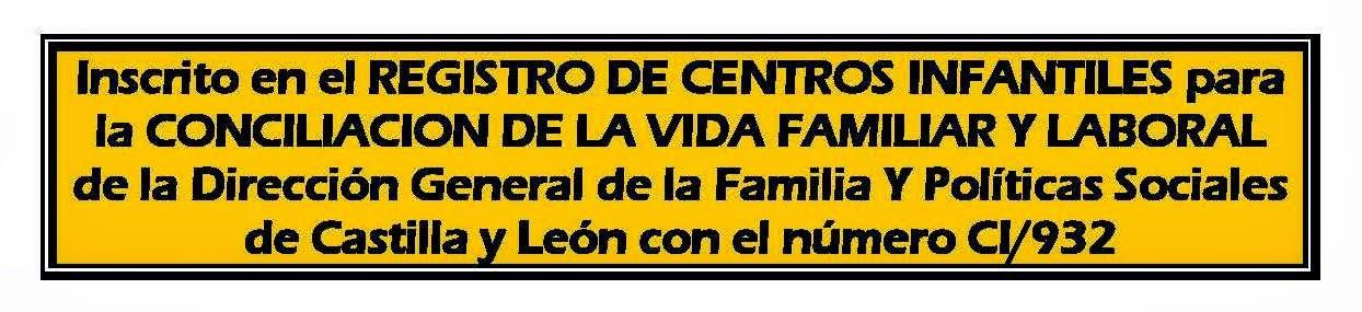 REGISTRO DE CENTROS INFANTILES