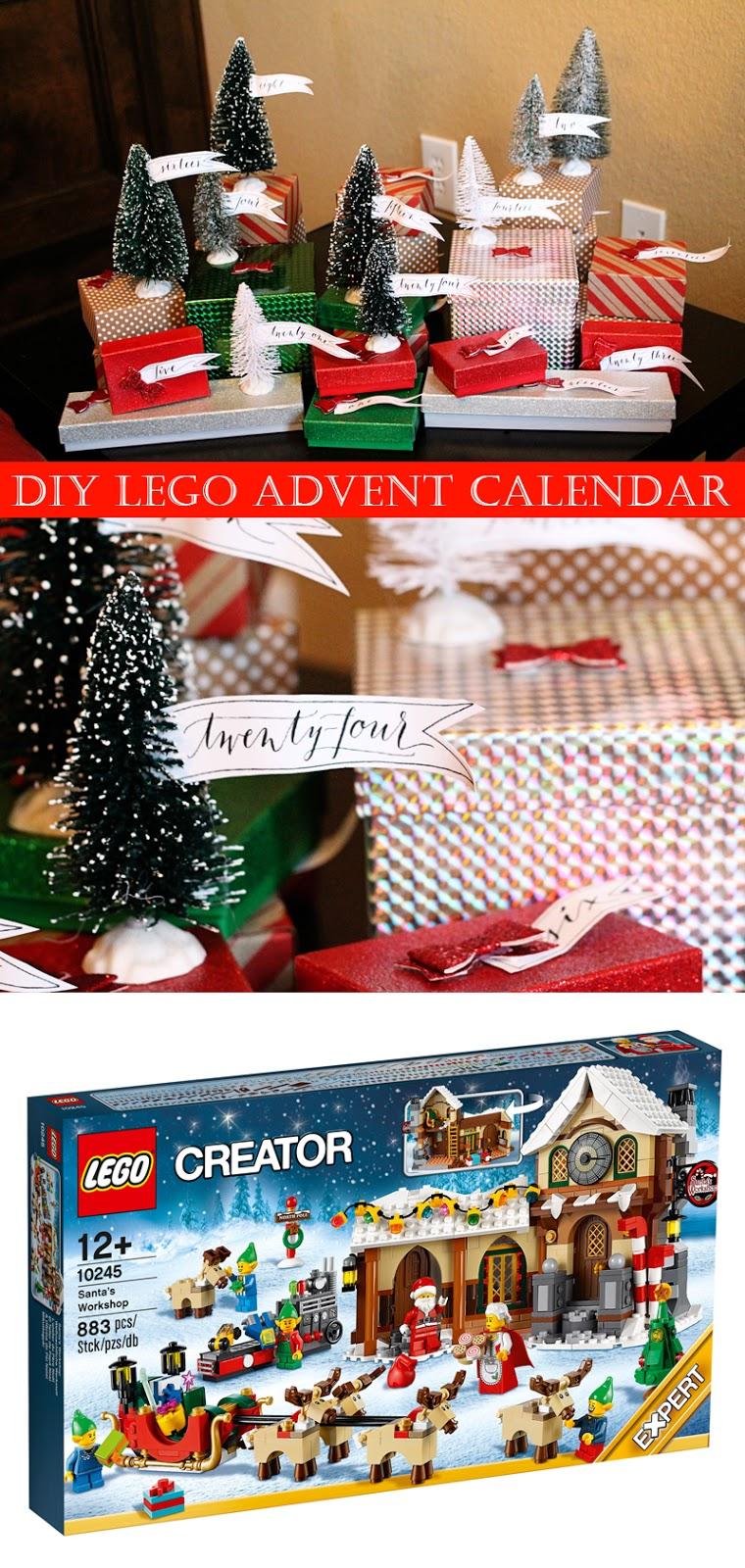 Advent Calendar Ideas Lego : Scraps of shirlee lego advent calendar diy