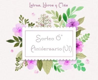 6º Aniversario - Sorteo Vi