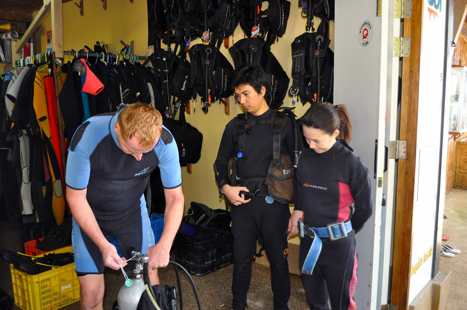 scuba equipment