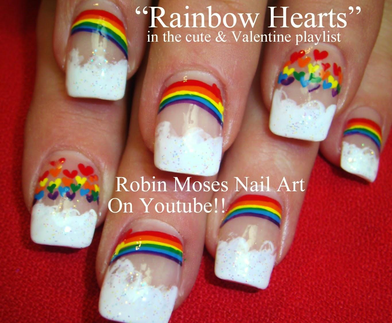 Rainbow nails nail art rainbow nail design rainbow nail art cute nail art solutioingenieria Gallery