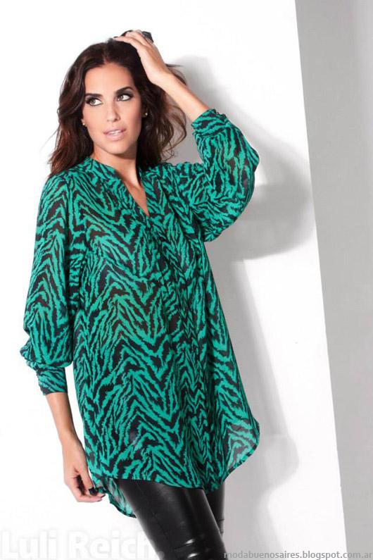 Luli Reich blusas de moda invierno 2014.