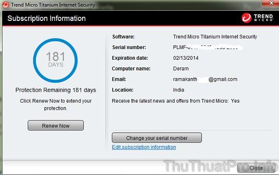 Trend micro titanium internet security 2013 mi n ph 6 - Download office 2013 full crack key ban quyen ...