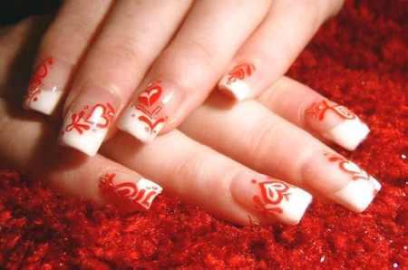 acrylic nail art. acrylic nail art.