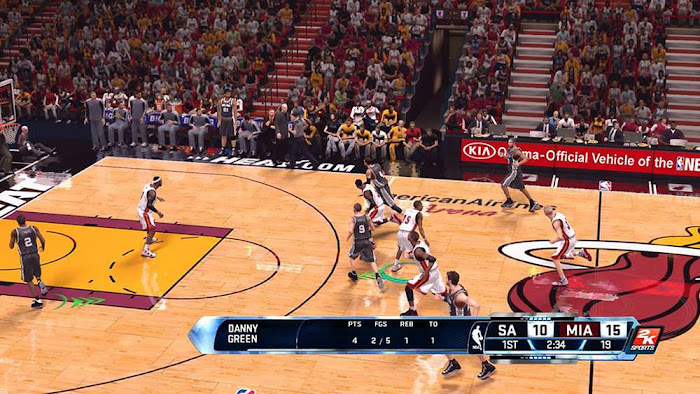 NBA 2k14 Next-Gen Scoreboard Mod PC Download
