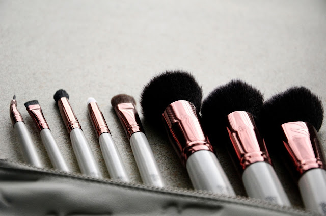 Nima Brush Elite Collection Rose Gold