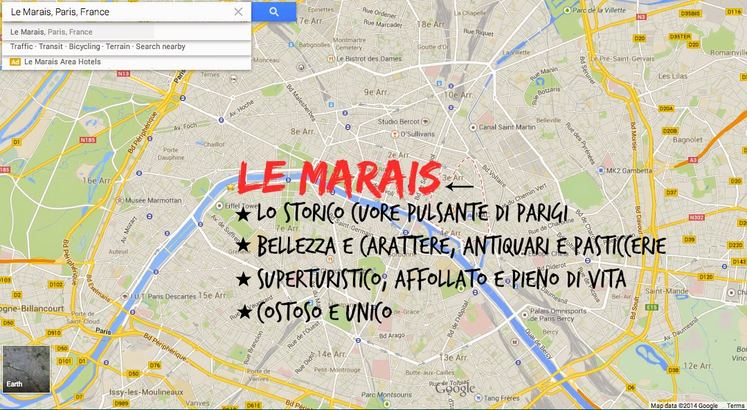 Le Marais - Parigi