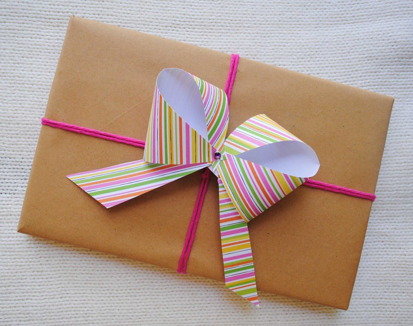 Zakka life craft easy paper bows - Papel de regalo transparente ...